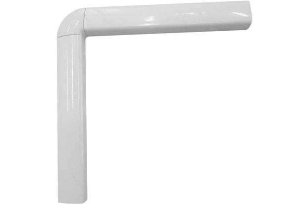 Guarnição em Alumínio para Porta Balcão 4 Folhas Una 210x150cm Branca - Casanova