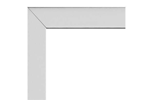 Guarnição para Janela Integrada Aluminium 120x120cm Branca - Sasazaki