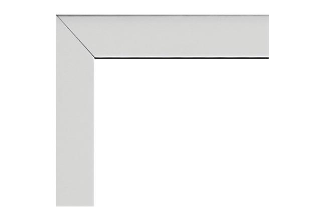 Guarnição para Porta em Alumínio 216x98cm Branca - Sasazaki