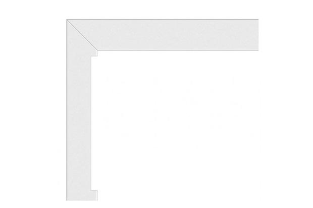 Guarnição para Porta Integrada Alumifort 237,5x150cm Branca - Sasazaki