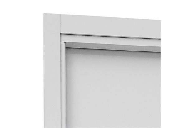 Guarnição para Porta Interna Aluminium 215x88x14cm Branca - Sasazaki