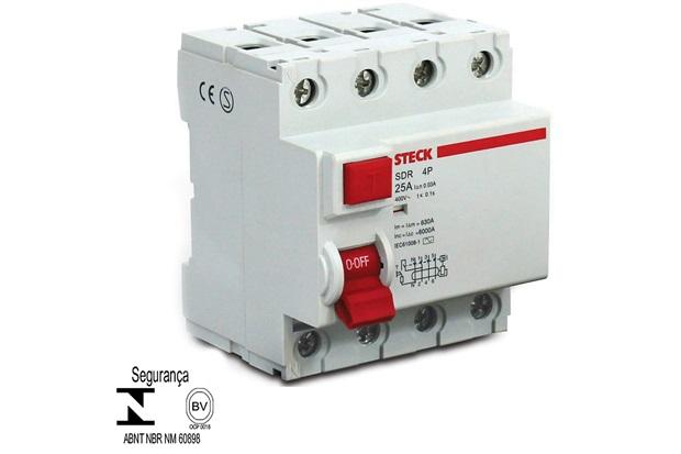 Interruptor Diferencial Idr 4p 25a 30ma - Steck