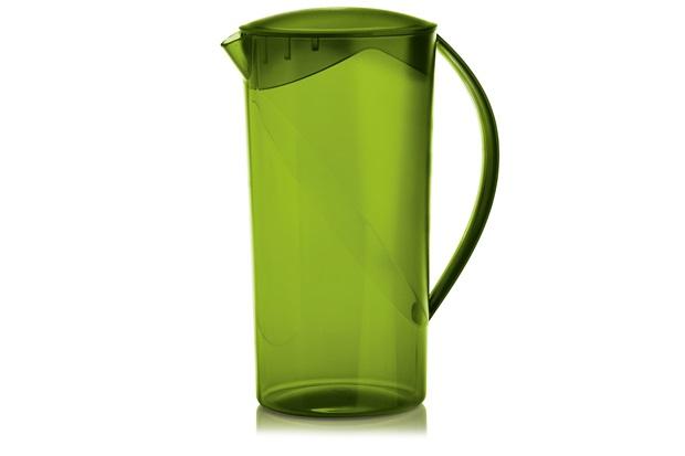 Jarra Redonda Cristal Verde 2 Litros - Ou
