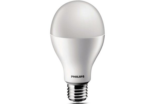 Lâmpada Led Bulbo 13w Bivolt Amarela - Philips