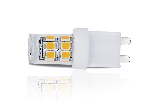 Lâmpada Led Dicróica G9 3w 110v 6000k Luz Branca - Luminatti