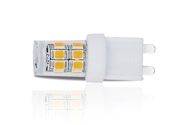 Lâmpada Led Dicróica G9 3w 220v 6000k Luz Branca - Luminatti