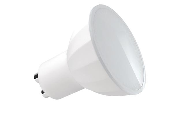 Lâmpada Led Dicróica Gu10 7w Bivolt 6000k Luz Branca - Luminatti