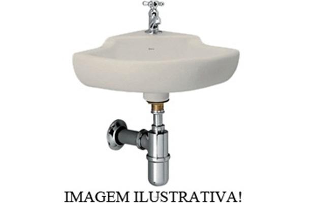 Lavatório de Canto  30x30x33 Ref: L101 Cr37  - Deca
