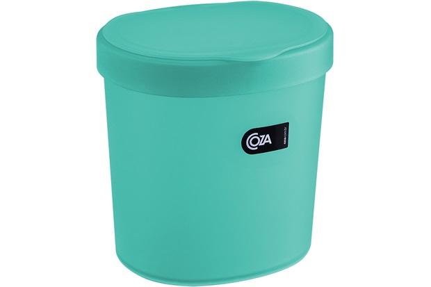 Lixeira  Verde 2,5 Litros - Coza