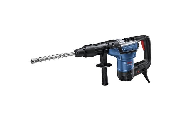 Martelo Perfurador com Sds-Max 1100w 220v Gbh 5-40 D Professional Azul E Preto - Bosch
