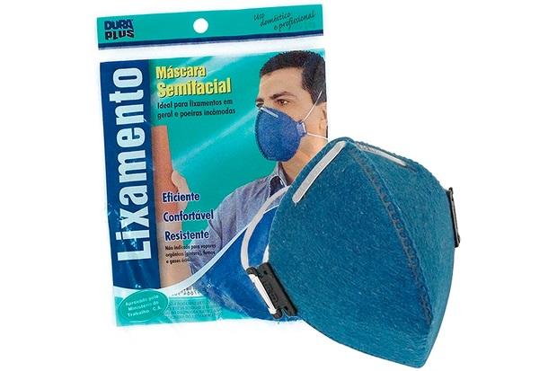 Máscara para Lixamento Descartável - Dura Plus