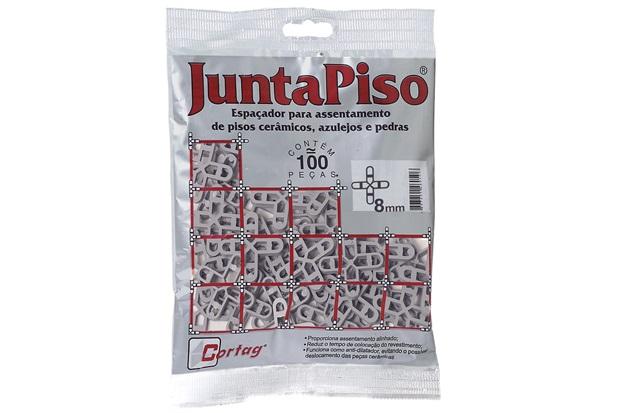 Pacote Espaçador Juntapiso 8,0mm Plástico - Cortag