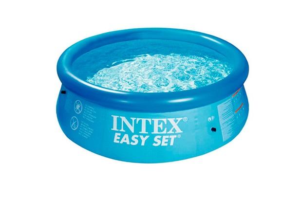 Piscina Easy Set 2.420 Litros Ref.: 56970 - Intex