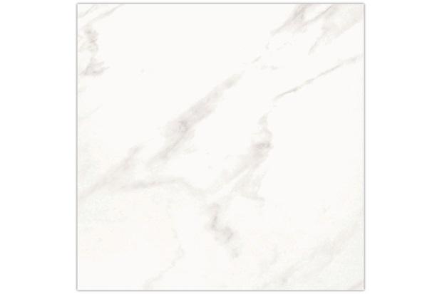 Piso Silver Esmaltado Alto Brilho Branco 53x53cm - Fioranno