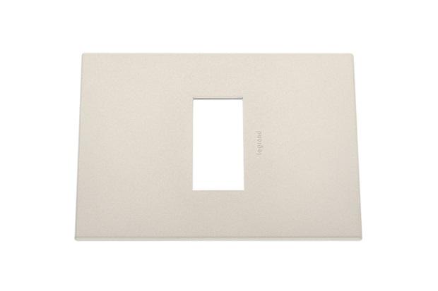 Placa 4x2 1 Posto Amarela  - Pial Legrand