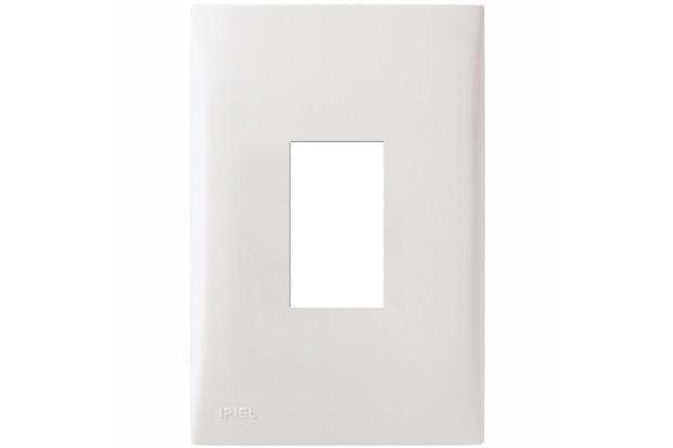 Placa com Suporte 4x2 Vertical Imperia Branca - Iriel