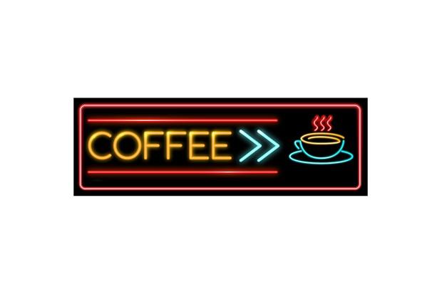 Placa Decorativa em Mdf Coffee 10x30cm - Kapos