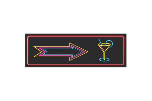Placa Decorativa em Mdf Drink 10x30cm - Kapos