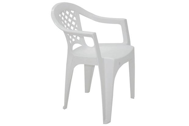 Poltrona de Plástico Iguape Branca - Tramontina