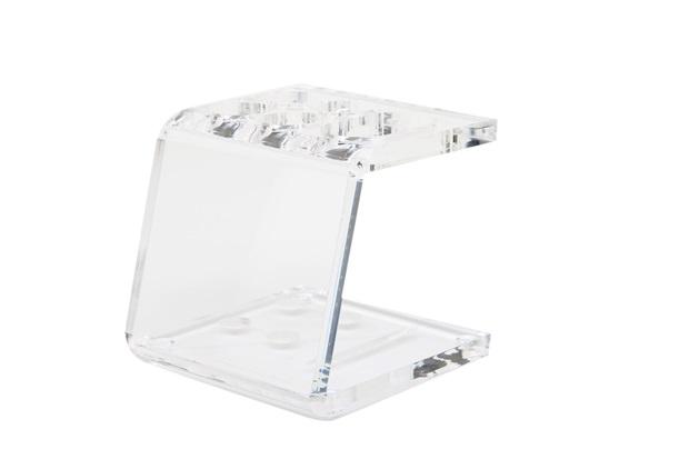 Porta Escova Pequeno Cristal Ref. 909 - Formacril
