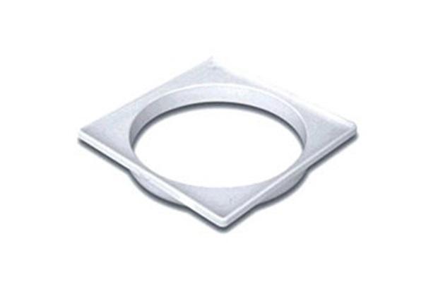 Porta Grelha Quadrada Branca 100mm - Tigre