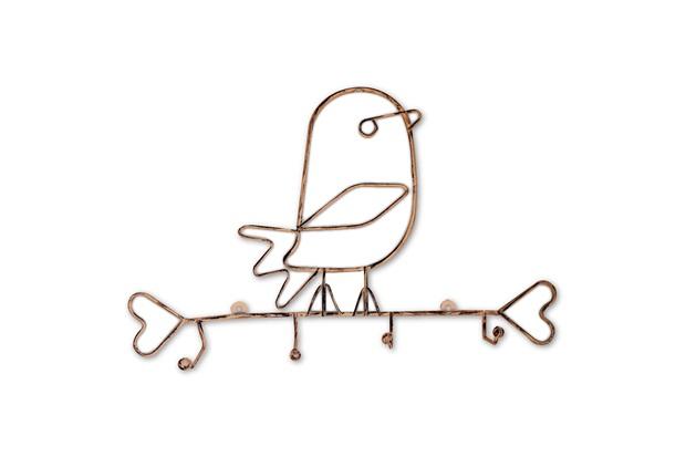 Porta Pano Aramado No Formato de Pássaro  - Império Decore