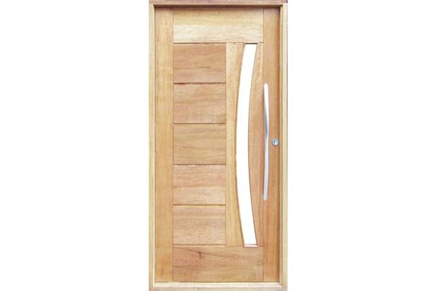 Porta pivotante maci a montada esquerda com vidro cedro for Porta 1 100
