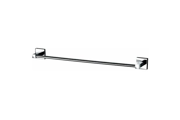Porta Toalha de Banho Quadra Cromado - Perflex