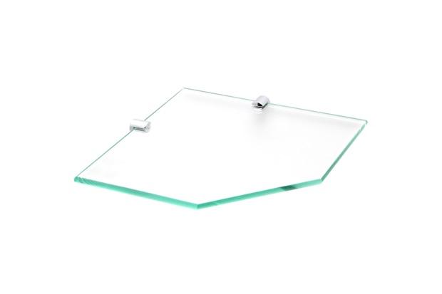 Prateleira em Vidro 25x15cm Transparente - Rack System