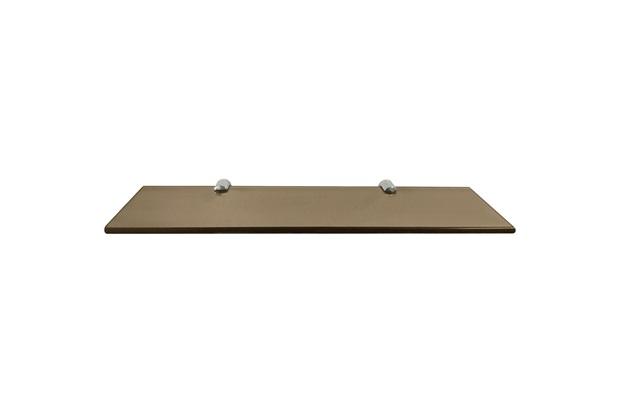 Prateleira em Vidro 40x10cm Bronze - Rack System
