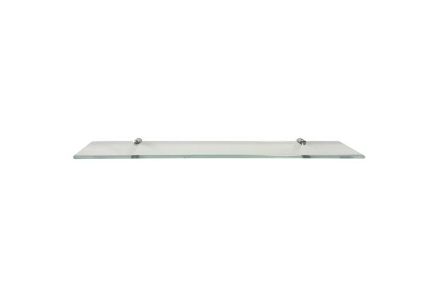 Prateleira em Vidro 60x10cm Transparente - Rack System