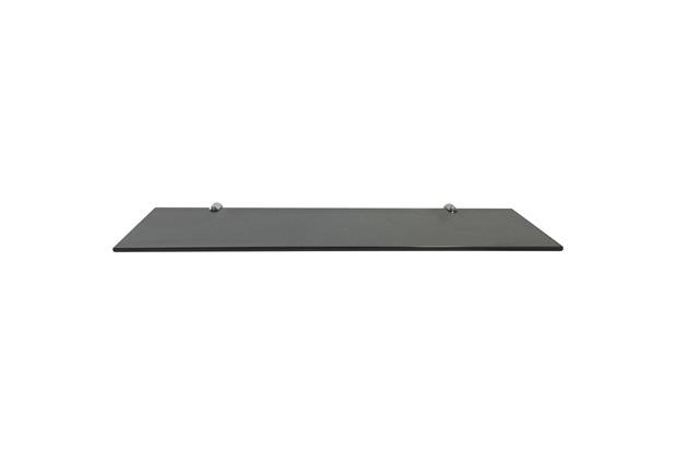 Prateleira em Vidro 60x15cm Fumê - Rack System