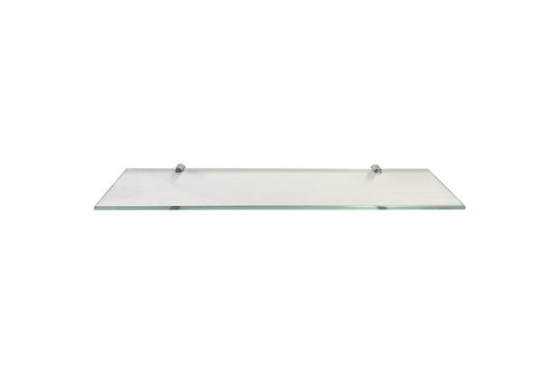 Prateleira em Vidro 60x15cm Transparente - Rack System