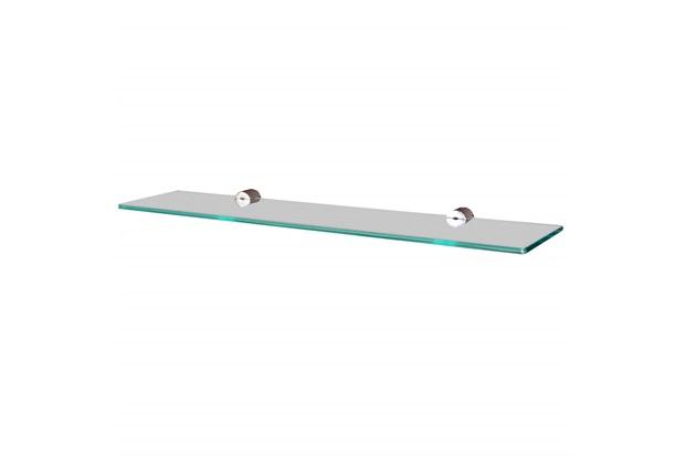 Prateleira em Vidro Reta 40x20cm Transparente - Sicmol