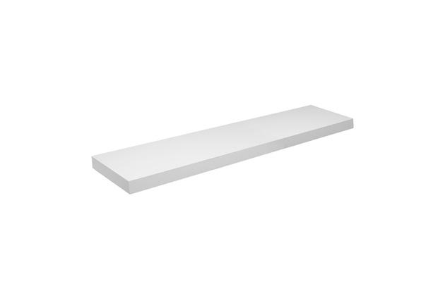 Prateleira Tendenza Branca 4x25x100cm Ref. 8753100 - Prat-k