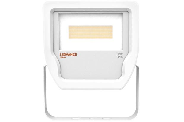 Projetor de Led 30w Bivolt com Luz Branca Floodlight Branco - Ledvance