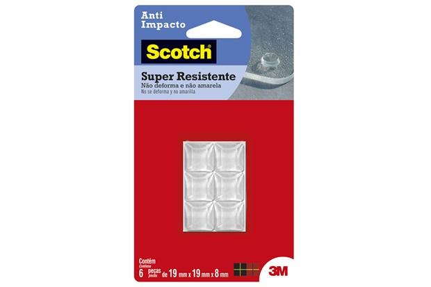 Protetor Anti Impacto Piramidal Transparente - Scotch