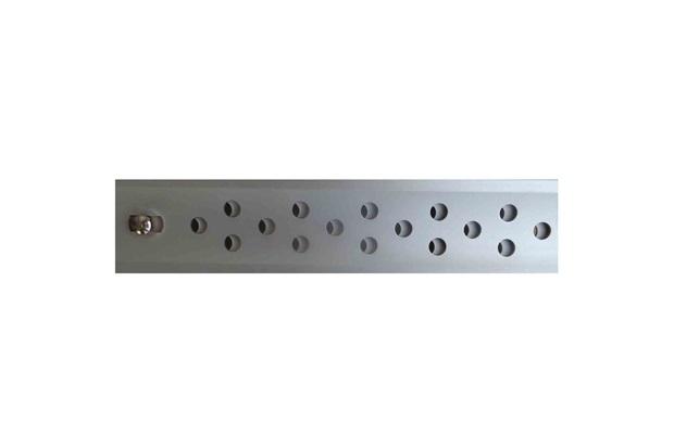 Ralo Linear em Alumínio Seca Tudo Abre E Fecha 3x60cm Cromado - Aminox