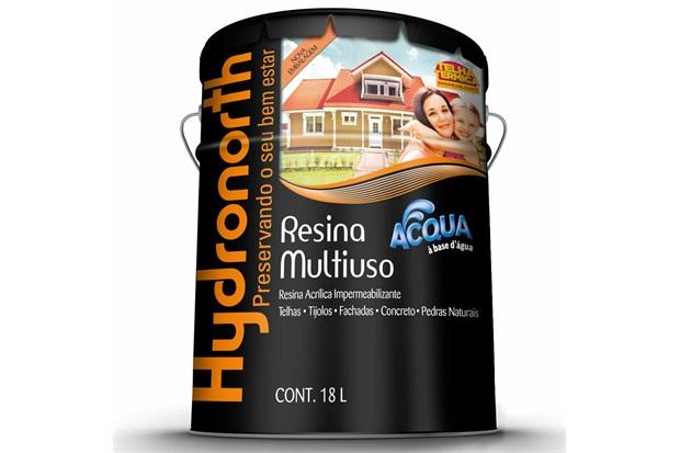 Resina Acrílica Impermeabilizante Multiuso Acqua Cinza 18 Litros - Hydronorth