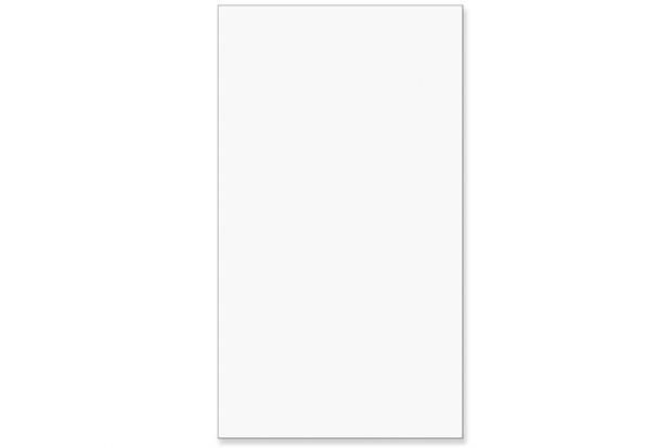 Revestimento Esmaltado Acetinado Borda Bold Branco 32x56cm - Incefra