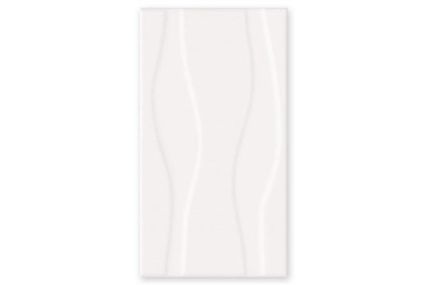 Revestimento Esmaltado Borda Bold Spirit Branco 33x60cm - Incepa