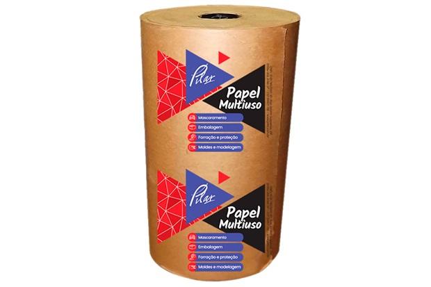 Rolo de Papel Kraft para Proteção 45cm com 65 Metros - Pilar