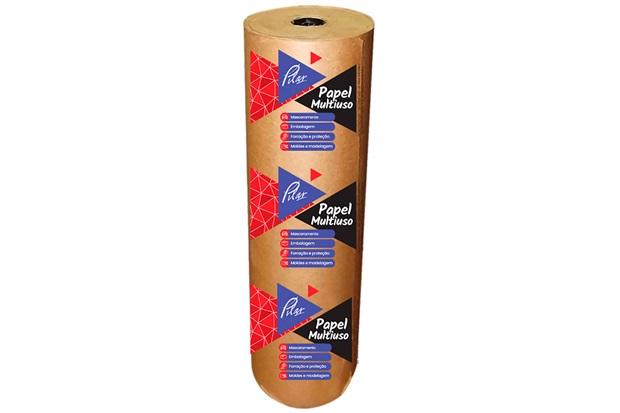 Rolo de Papel Kraft para Proteção 90cm com 65 Metros - Pilar