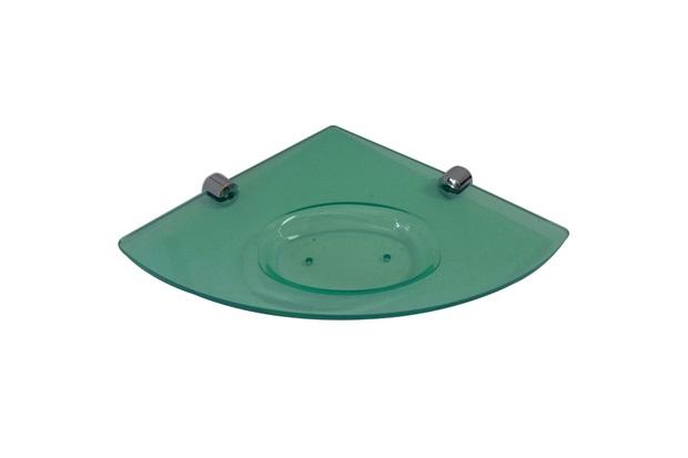 Saboneteira de Canto em Acrílico 20x2cm Jade - Formacril