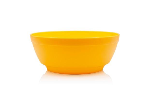 Saladeira Luna Cristal 3,5 Litros Amarelo - Martiplast
