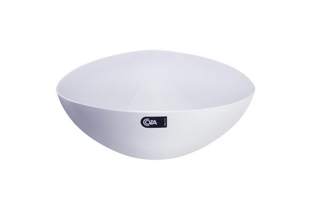 Saladeira Triangular 5 Litros Branca - Coza