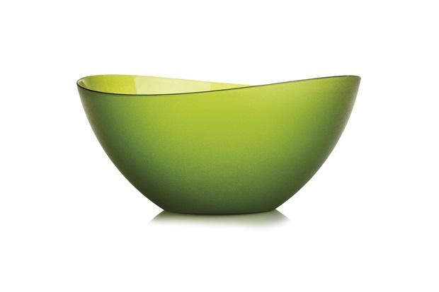 Saladeira Wave Cristal 4 Litros Verde - Martiplast