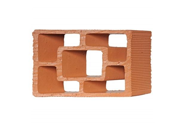 Tijolo Vazado Diagonal Quadrado 25x18x7cm  - Martins