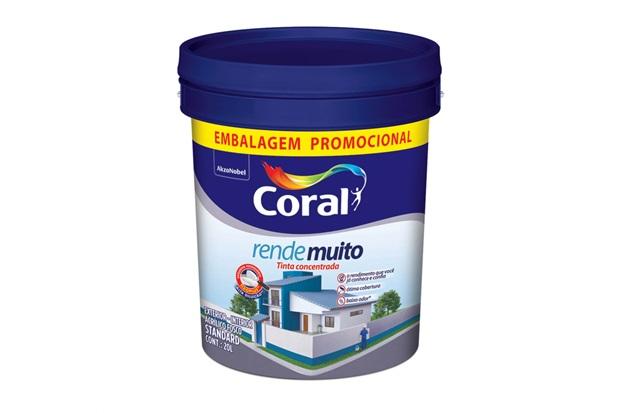 Tinta Acrilica Rende Muito Branca 20 Litros  - Coral
