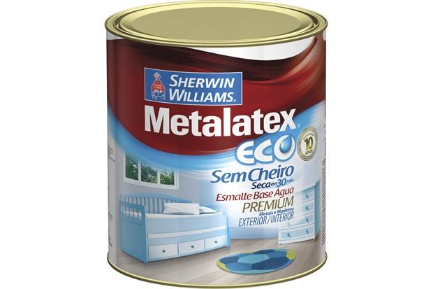 Tinta Eco Esmalte Acetinado Areia 900ml - Sherwin Williams